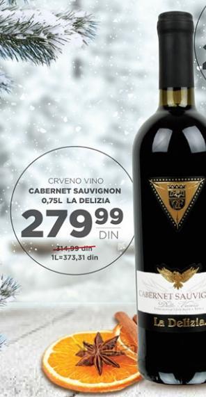Crno vino Cabernet Sauvignon