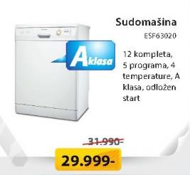 Sudomašina ESF63020