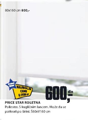 Roletna Price Star 80x160cm
