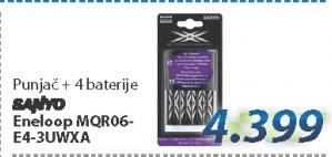 Punjač za baterije MQR06-E4-3UWXA