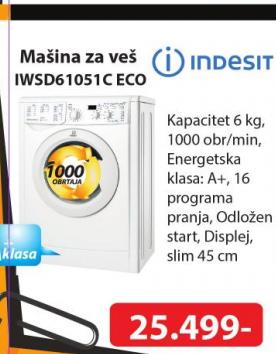 Mašina za veš IWSD61051CECO