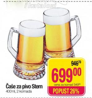 Čaše za pivo Stem