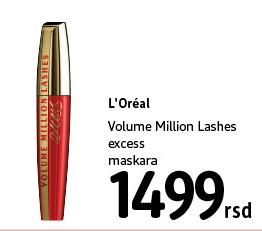 Maskara Volume Million Lashes
