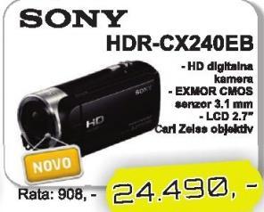 Kamera Hdr-Cx240eb