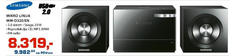Mikro linija MM-D320/EN