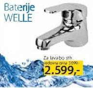 Baterija za lavabo Welle