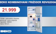 FRIZIDER RDV6200A