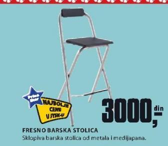 Barska stolica Fresno