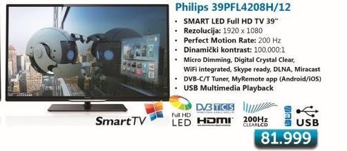TELEVIZOR LED 39Pfl4208h/12
