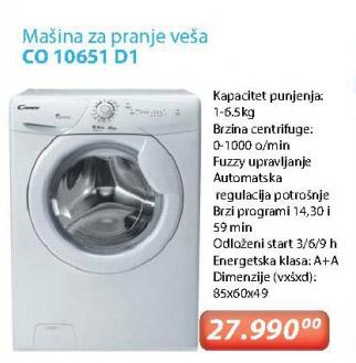 Veš Mašina CO 10651D1