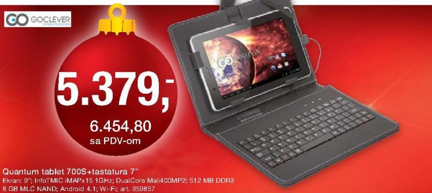 Tablet Quantum 700s sa tastaturom