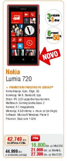 Mobilni telefon Lumia 720