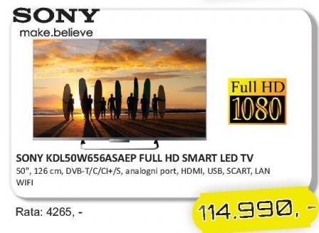 """Televizor LED 50"""" KDL50W656ASAEP"""