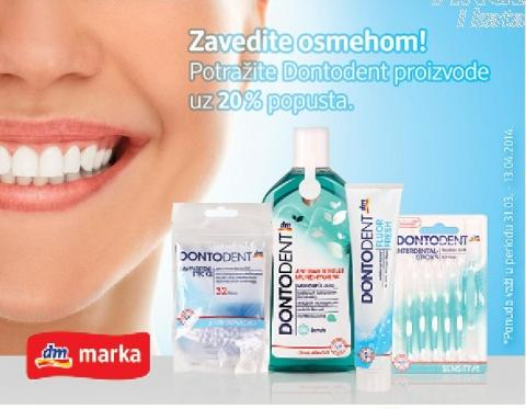 -20 % Dontodent