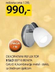 Dekorativni reflektor 88716 Benita