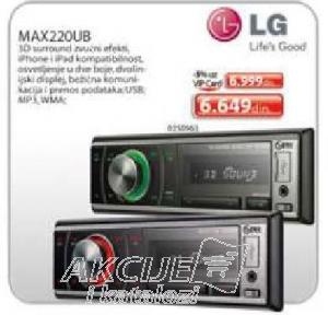 Auto Radio Max220Ub