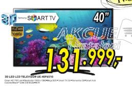 3D LED LCD TV UE-40F6510