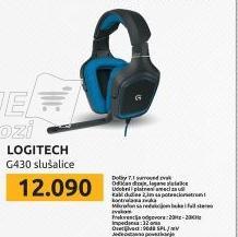 Slušalice G430 7.1