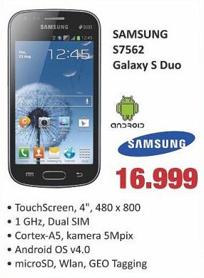 Mobilni Telefon GALAXY S Duo S7562