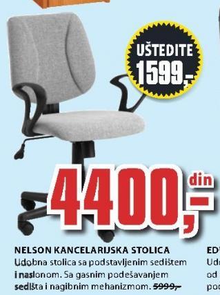 Kancelarijska stolica Nelson