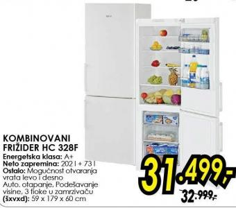Kombinovani frižider Hc 328f