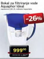 Bokal za filtriranje vode Aquaphor Ideal