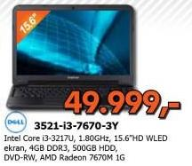 Laptop 3521-i3-7670-3Y