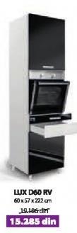 Kuhinjski element Lux D60Rv