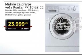 Mašina Za Pranje Veša PR 10 62 CC