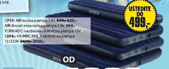 HURRICANE X električna pumpa