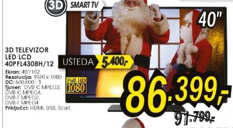 Televizor LED LCD 40PFL4308H/12