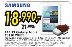 Tablet Galaxy Tab 2 P3110