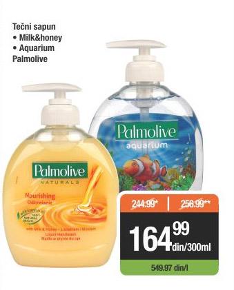 Tečni sapun Milk & Honey