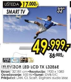 """Televizor LED 32"""" TxL32e6e"""