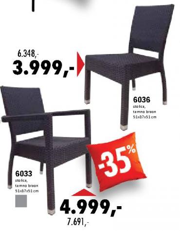 Baštenska stolica 6036