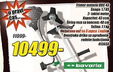 Trimer  motorni Bbc 43