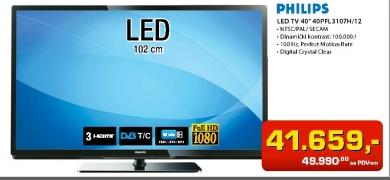 LED TV 40PFL3107H/12
