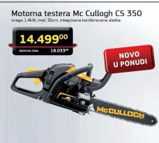 Motorna Testera Mc Cullogh CS 350