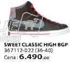 Patike Sweet Classic HIGH BGP