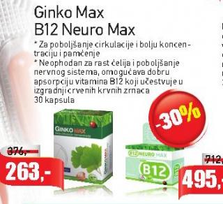Ginko Max kapsule