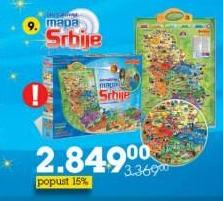 Akcija Tempo Interaktivna Mapa Srbije 95233