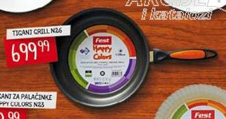 Fest tiganj Grill Happy Colors N26
