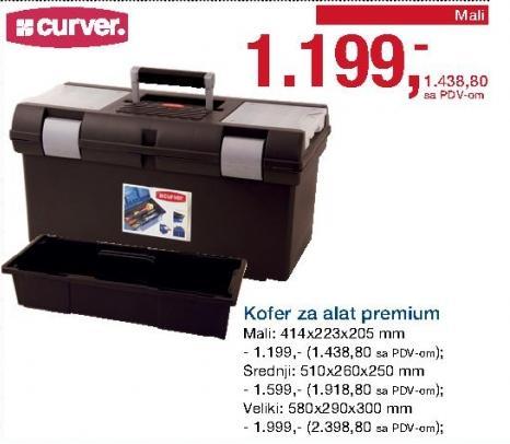 Kofer za alat Premium Srednji