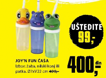 Joy'n'Fun čaša