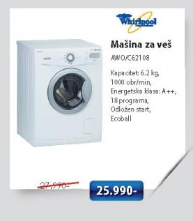 Mašina Za Veš Awo/C62108