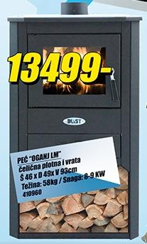 Peć Oganj LM