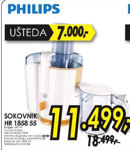 Sokovnik HR 1858/55
