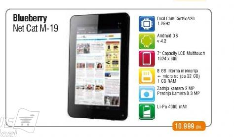 Tablet NETCAT-M19