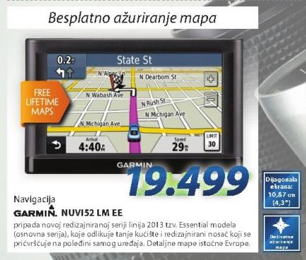 Navigacija Nuvi 52 Lm Ee