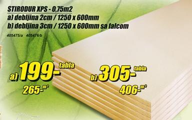 Stirodur Xps 3cm